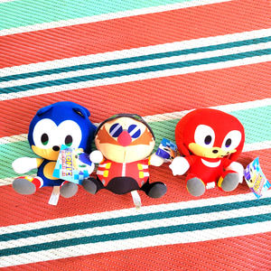 """Sonic The Hedgehog 7"""" - Sonic, Knuckles Plush Toy"""